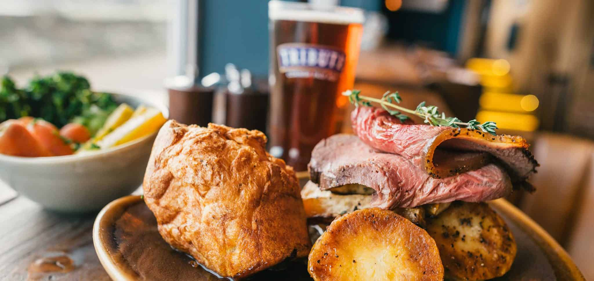 Sunday Lunch at The Working Boat Pub | Sunday Roasts in Falmouth