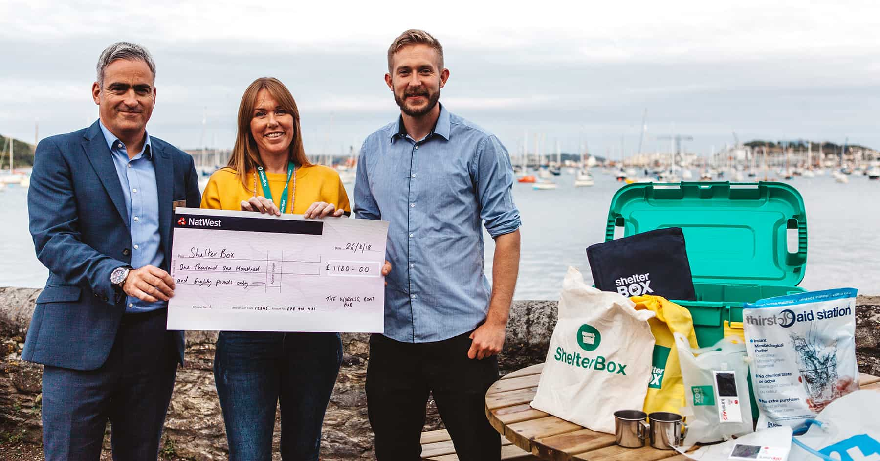 the-working-boat-pub-falmouth-shelterbox-donation-cornwall-pub-quiz