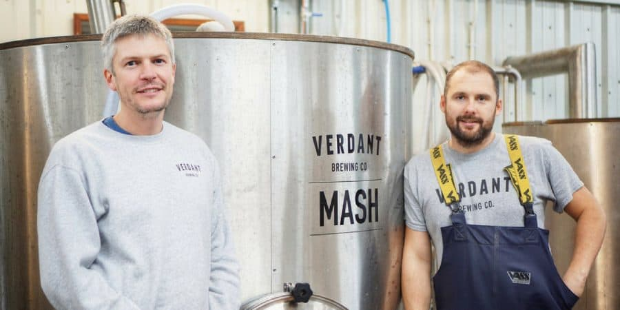 Introducing Adam and James from Verdant Brewery