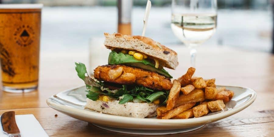 Our classic vegan burger recipe by Head Chef Liam