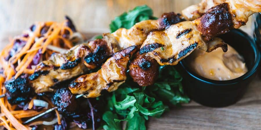 Chicken Breast and Chorizo Barbecue Skewer Recipe