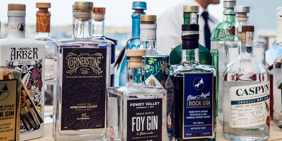 Top Five Cornish Gins to Try