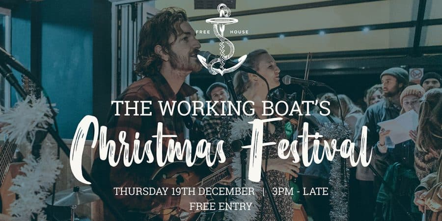 The Working Boat Mini Christmas Festival 2019