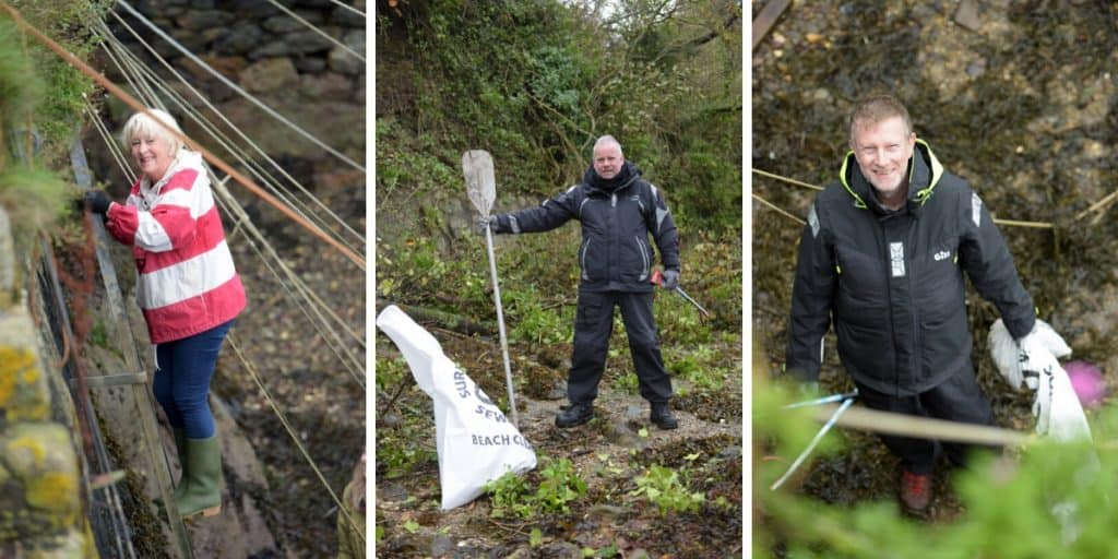 Beach Clean in Falmouth - The Working Boat and The Greenbank successful once more