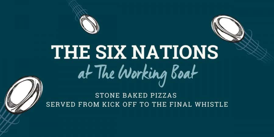 Celebrating Six Nations 2020 at The Working Boat