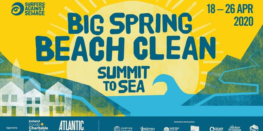 The Big Spring Beach Clean in Falmouth: Greenbank Beach